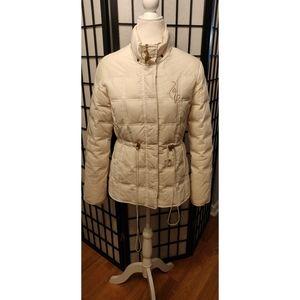 Baby Phat White Puffer Coat